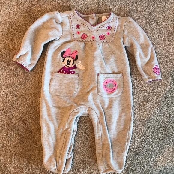 8b66be096420 Disney One Pieces   1218 Month Baby Girl Sweater Onesie   Poshmark